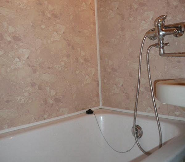 Панели пвх стеновые в ванной своими руками 921
