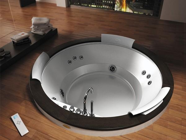 особенности установки встраиваемой в пол ванны
