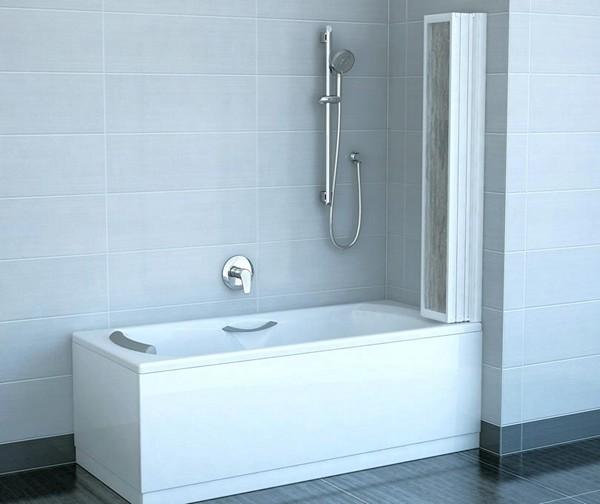 шторки для ванной складные фото