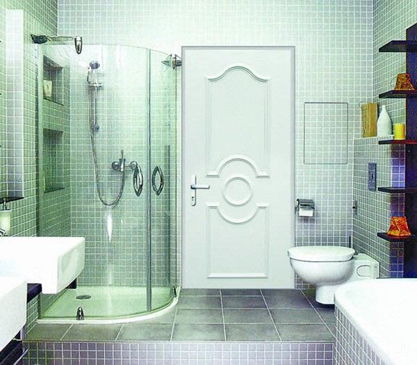 какие двери лучше для ванной комнаты