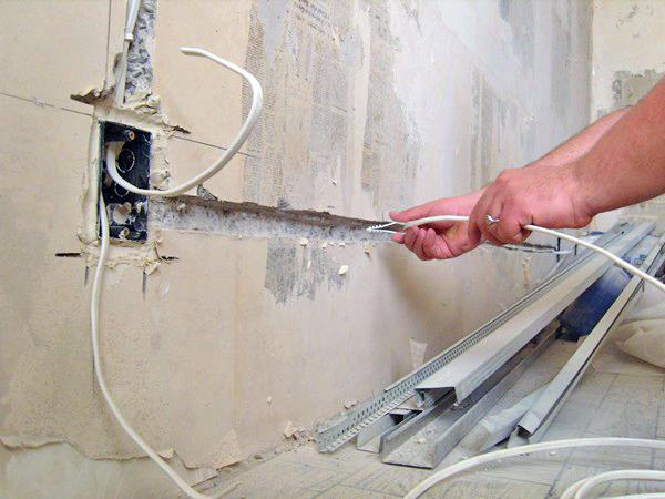 электропроводка в ванной комнате своими руками фото