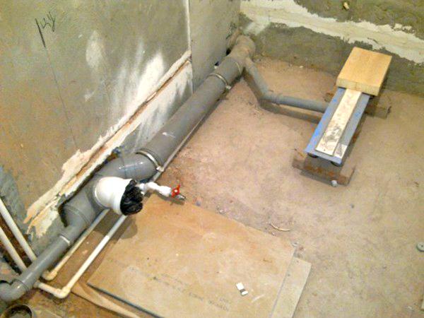 Как правильно сделать канализацию под душевую кабину