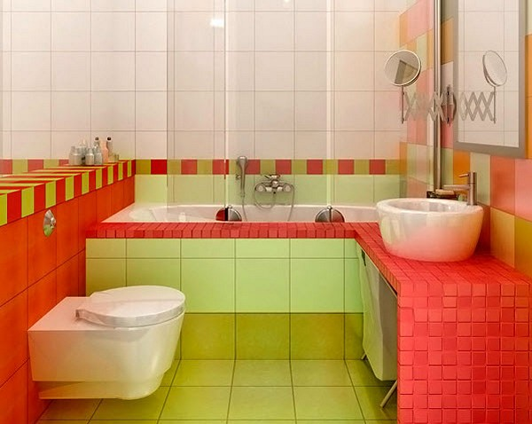 Бюджетный и экономный ремонт ванной комнаты: разные варианты 86