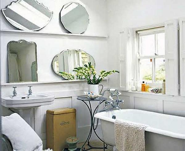 интерьер ванной комнаты в стиле прованс фото