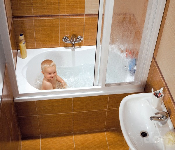 душевая кабина фото в ванной