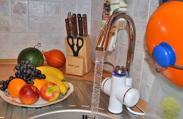 Электрический кран водонагреватель: принцип работы и подключение, Ремонт и дизайн ванной комнаты