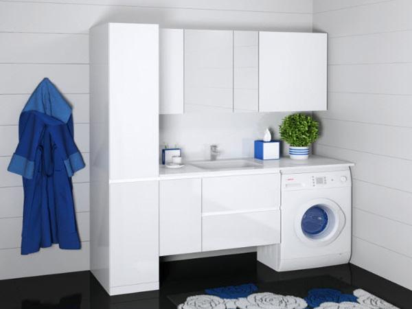 комплект мебели в ванную комнату фото
