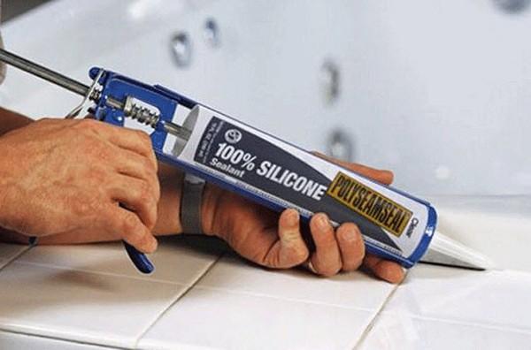герметик для ванной фото