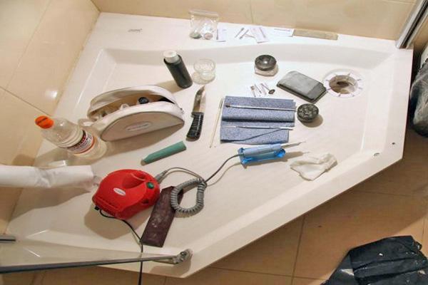 ремкомплект для акриловых ванн