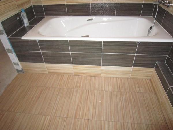 облицовка ванны плиткой фото