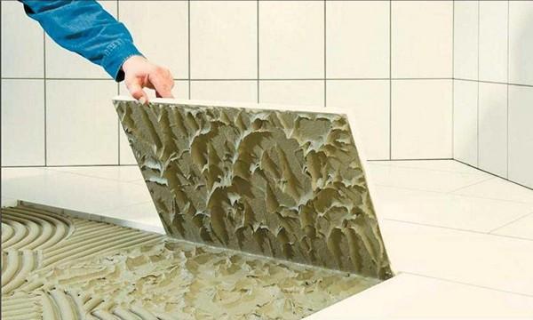 плиточный клей для ванной фото