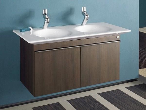 двойной умывальник для ванной фото