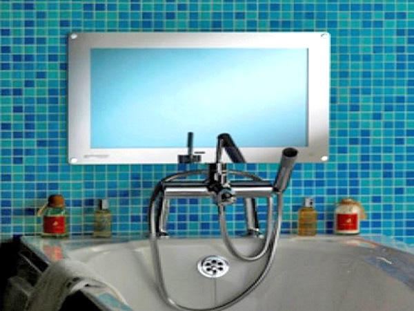 телевизор в ванную комнату фото
