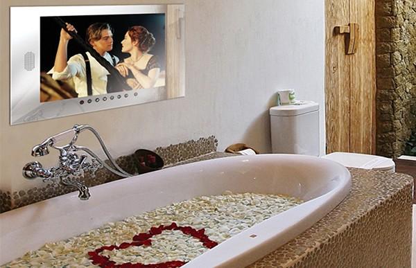 чем отличаются телевизоры для ванной комнаты