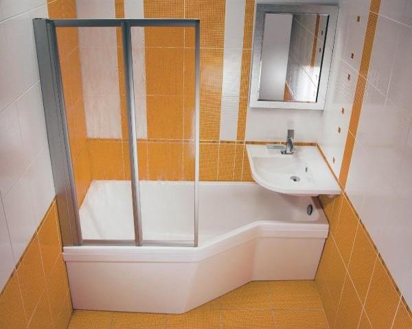 как сделать ванну с душевой кабиной
