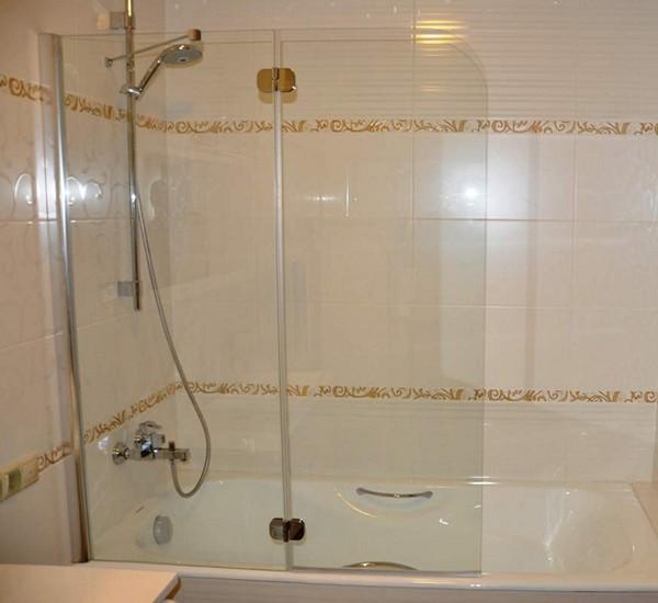 стеклянные перегородки для ванной фото