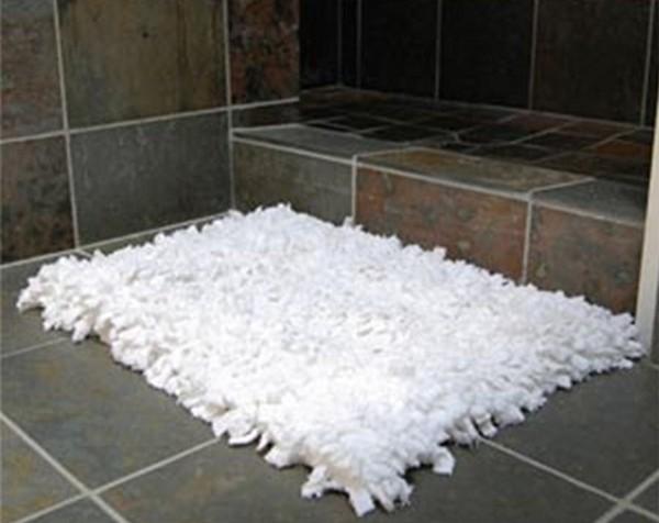 тканевый коврик в ванную фото