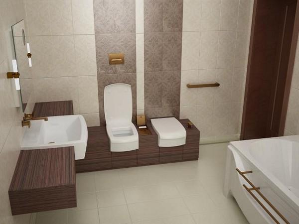ванная комната в частном доме фото