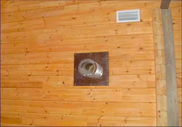 вентиляция в ванной деревянного дома фото