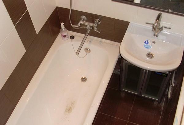 Бюджетный и экономный ремонт ванной комнаты: разные варианты 99