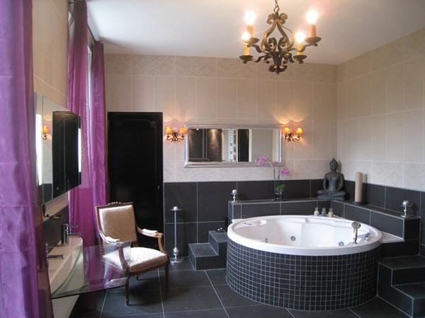 потолочная люстра для ванной фото