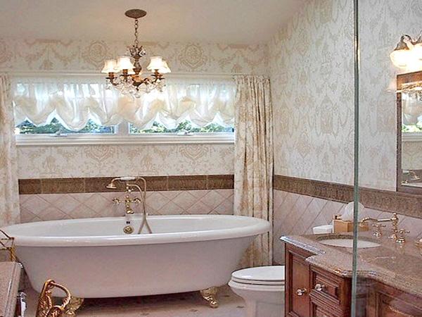 люстра в ванную комнату фото
