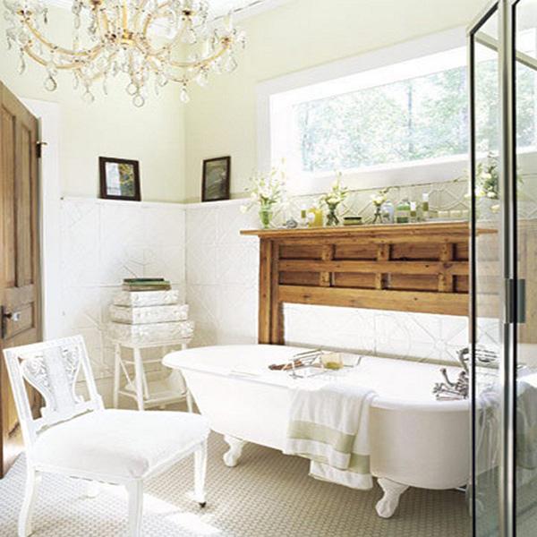 разновидности люстр в ванную комнату