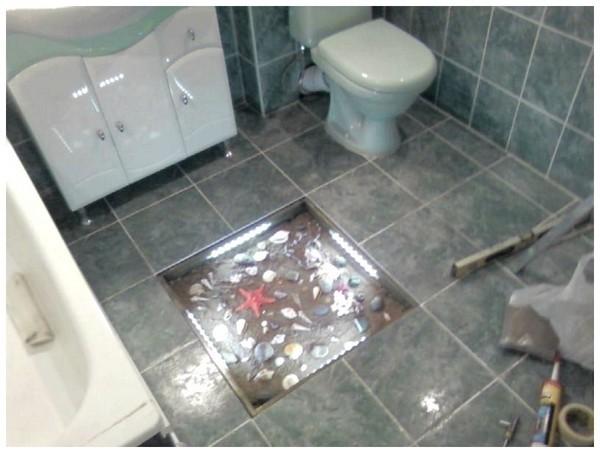 Как сделать декор ванны
