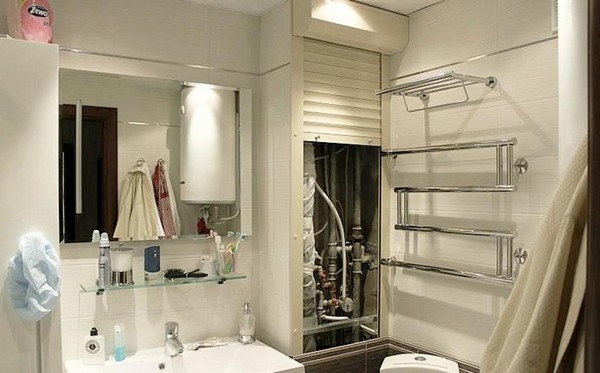 сантехнические рольставни в туалет фото