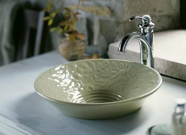 раковина накладная для ванной фото