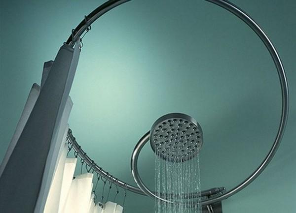 штанга для душа в ванную фото