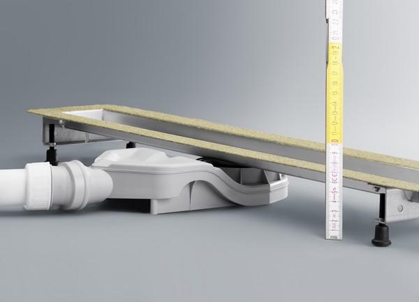 сифоны для душевых кабин с низким поддоном фото