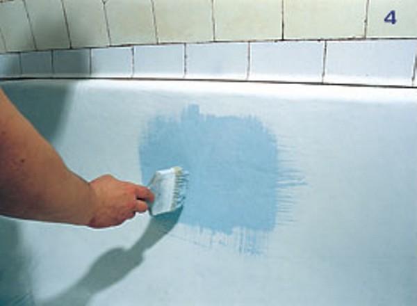 ремонт чугунной ванны эмалью фото