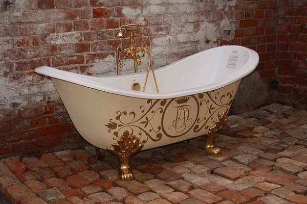 ремонт покрытия чугунной ванны фото