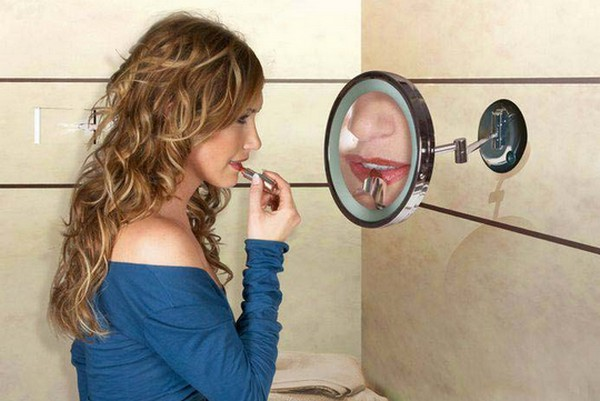 косметическое зеркало для ванной фото