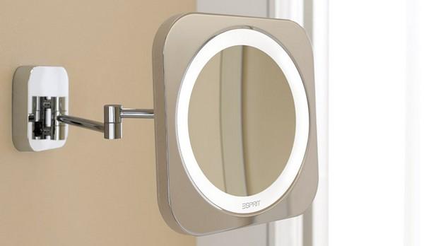 косметическое зеркало с подсветкой настенное фото