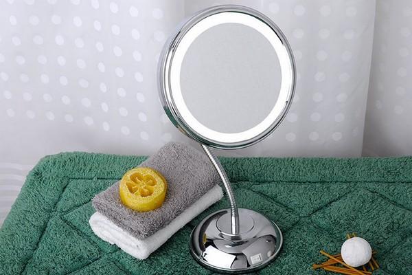 косметическое зеркало с увеличением и подсветкой фото