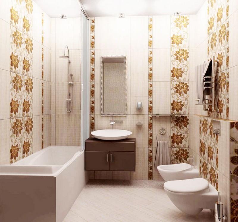 варианты рисунка плитки в ванной фото