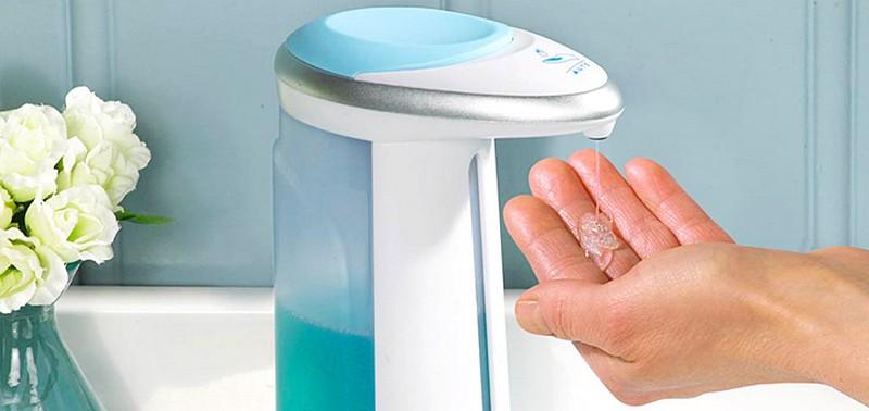 диспенсер для мыла сенсорный фото