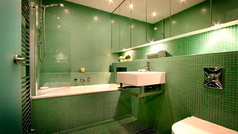 как осветить ванную комнату фото