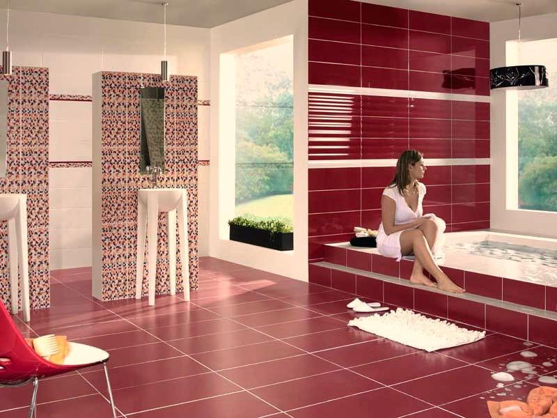 размеры напольной плитки для ванной фото