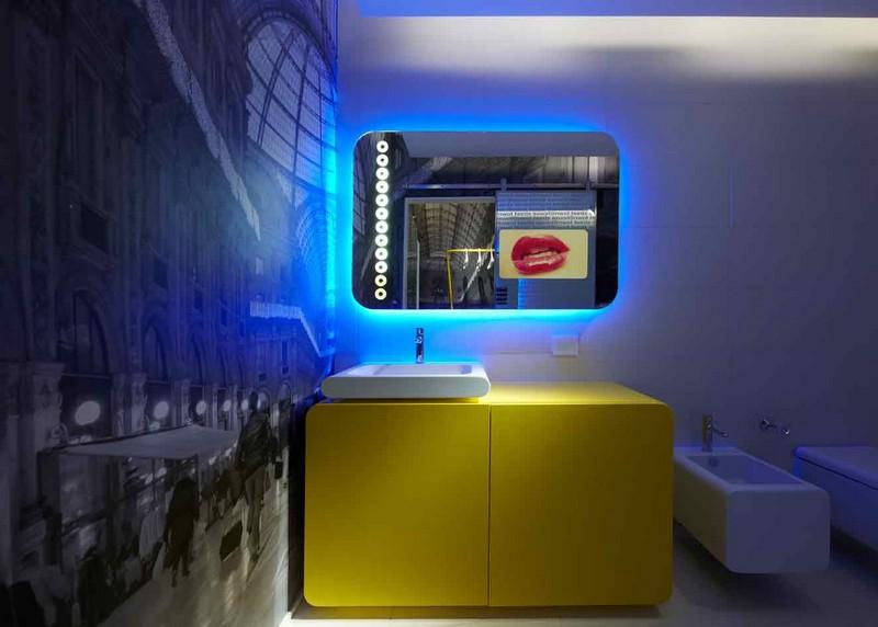 интерьер ванной хай тек фото