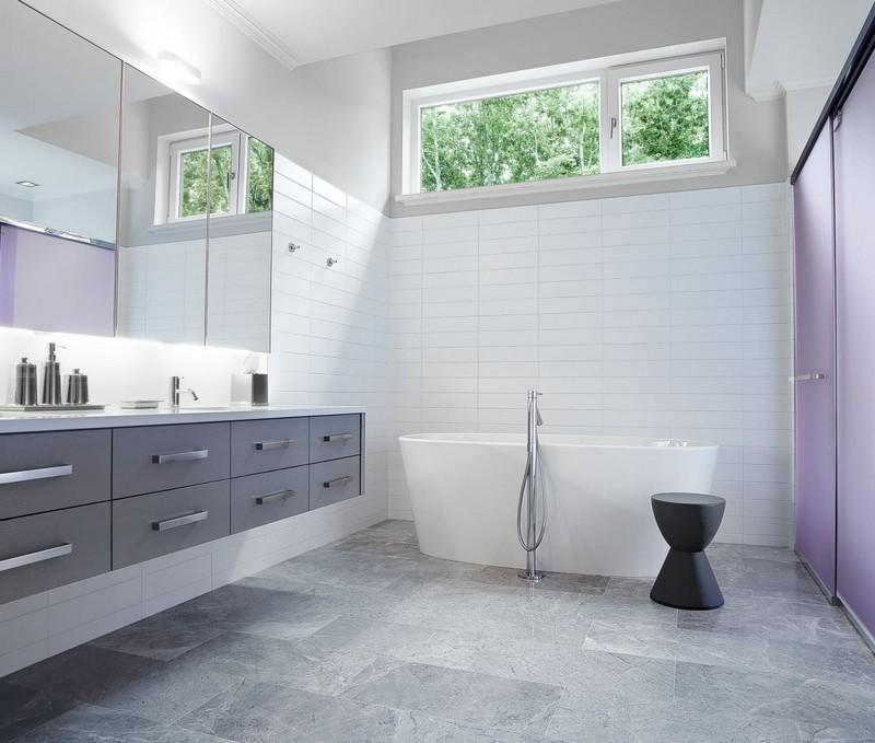 мебель для ванной минимализм фото