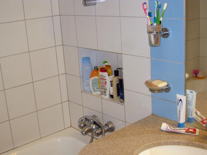 ниша в ванной из гипсокартона фото