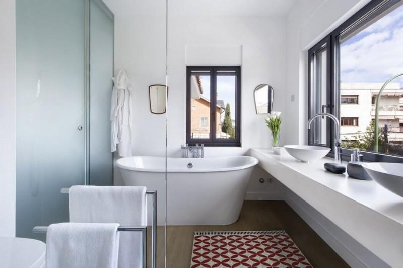 дизайн ванной комнаты в скандинавском стиле фото