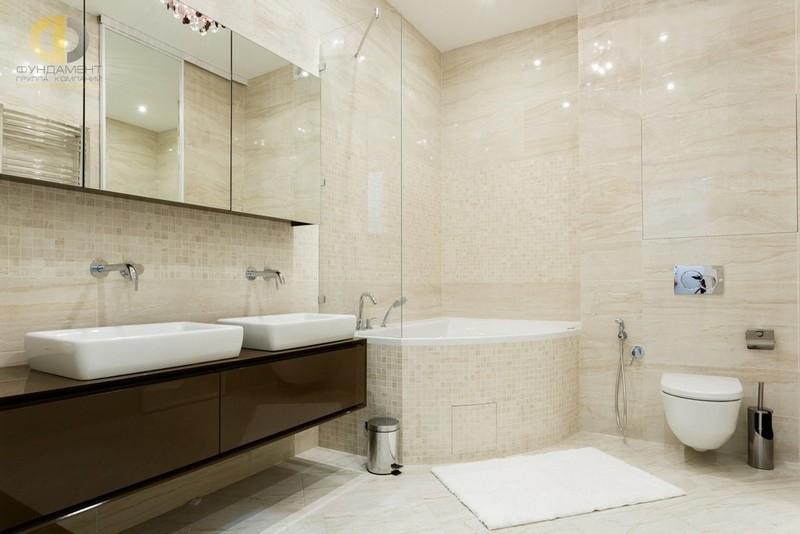 скандинавский стиль в интерьере ванной комнаты фото